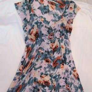 Kimchi Blue Maxi Beach Floral Dress
